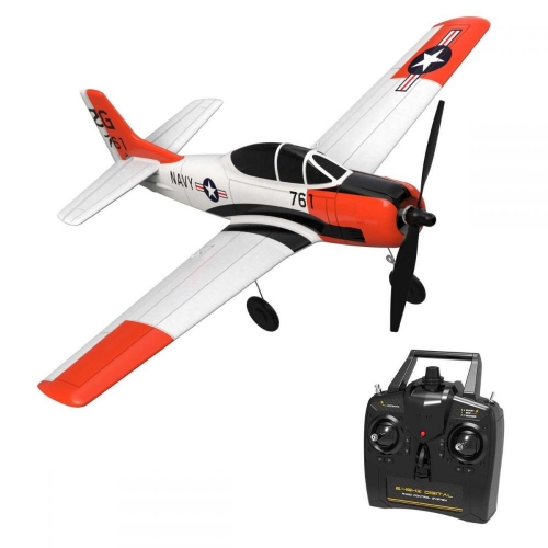 VOLANTEXRC T-28 4CH Airplane with Xpilot Stabilizer / One-key Aerobatic RTF 761-9