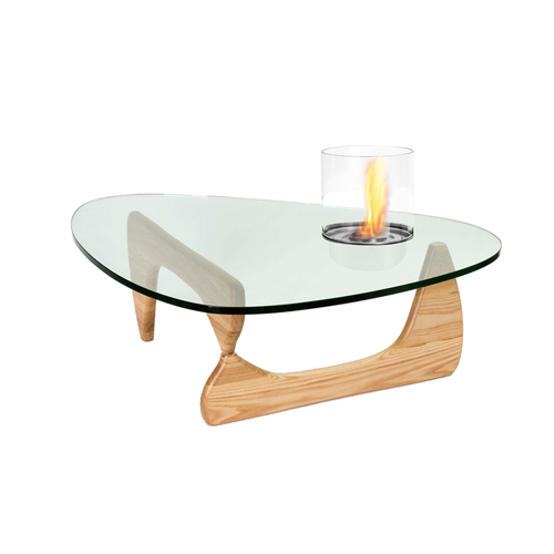 ElecFire bio ethanol fireplace coffee table