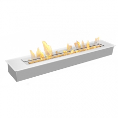 Ethanol burner for custom fireplace