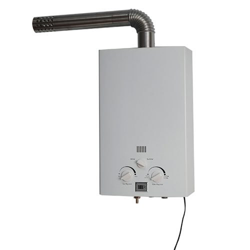 ElecFire tankless hot gas water heater forced exhaust