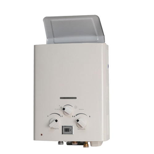 ElecFire natural exhaust gas water heater