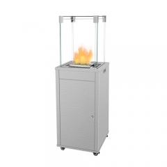 ElecFire patio terrace fires heater