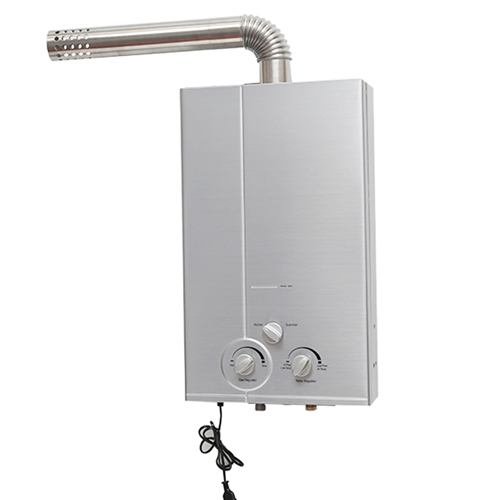 ElecFire gas water heater forced exhaust slim body