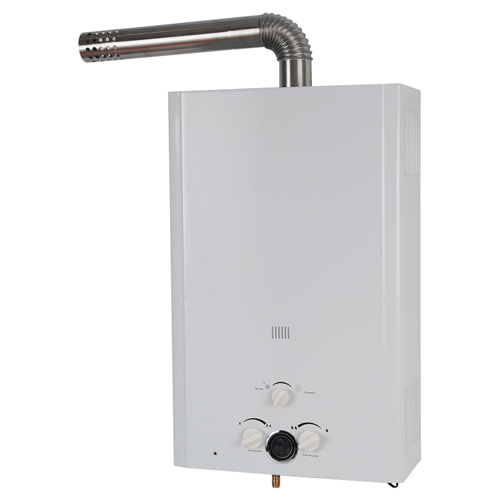 ElecFire tankless gas water heater forced exhaust 20 liters