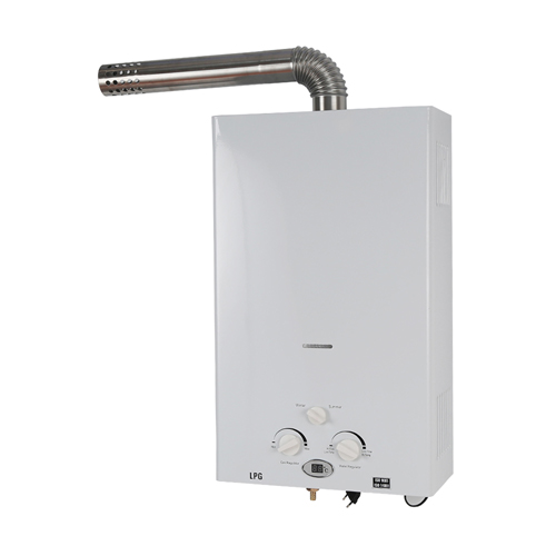 ElecFire tankless hot gas water heater forced exhaust 16liters