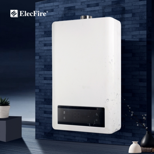 ElecFire Constant Wall-mounted Natural Gas Water Heater Household 8-16L Liquefied Gas Tankless Instant Hot Water Heater JSQ16-C1