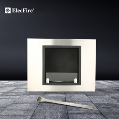 ElecFire Indoor Bio Ethanol Fireplace Wall Mounted EF-MW-31BB1