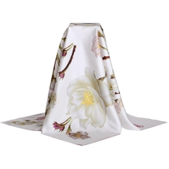 Double Side Silk Printing Scarf
