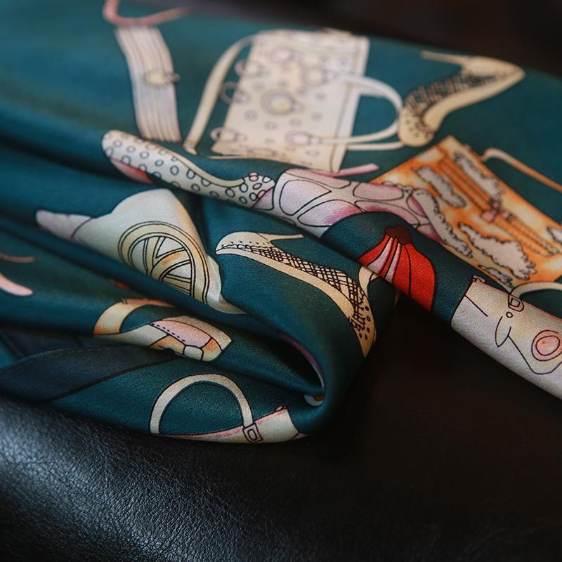 Women's 100% Mulberry Silk Scarf