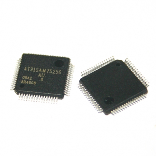 2pcs/lot AT91SAM7S256-AU QFP64 AT91SAM7S256 91SAM7S256 64-LQFP new ic chip