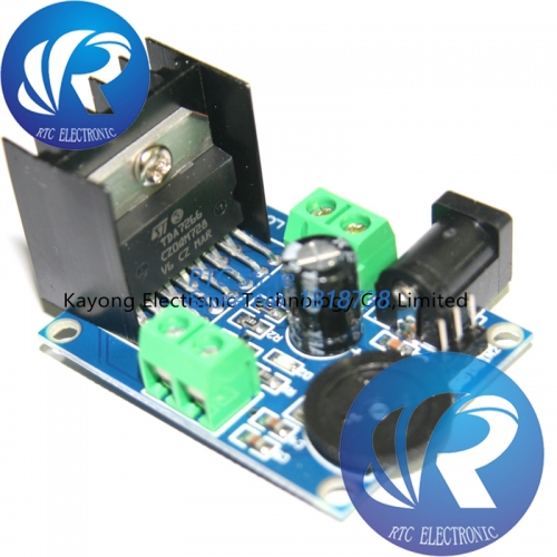 HIFI Audio Board Two Channel TDA7266 Operational Audio Amplifier Module Chips 7W+7W Dual Channel 4-8 ohm 5-15W