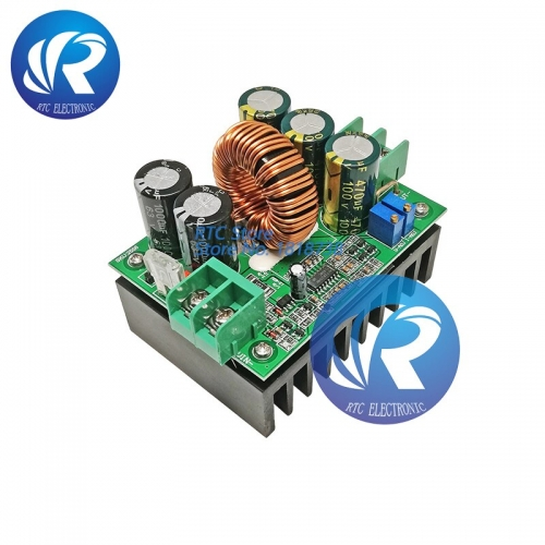 1200W 8V-60V dc dc Boost Converter step up power supply module 20A DC Constant Current