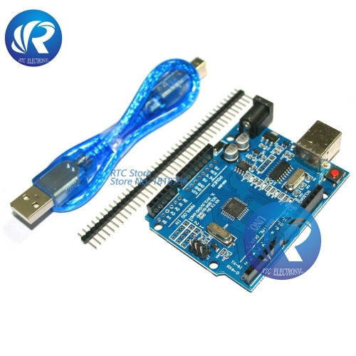 One set high quality UNO R3 CH340G+MEGA328P Chip 16Mhz For Arduino KIT UNO R3