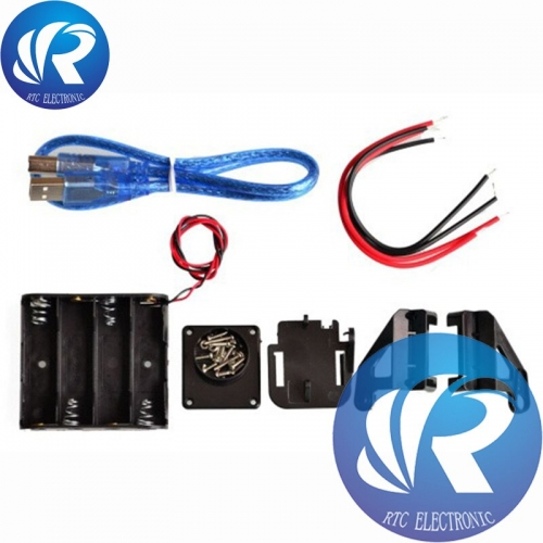 Smart Robot Car 2WD Chassis Kit For arduino Ultrasonic Module tracking Motor Battery Box