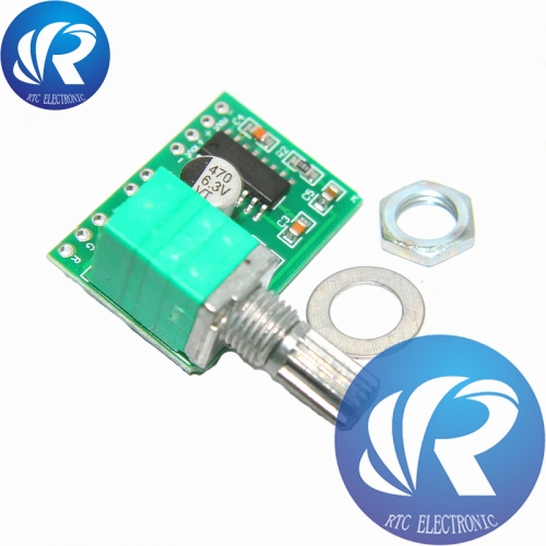 Mini PAM8403 DC 5V 2 Channel USB Digital Audio Amplifier Board Module 2 * 3W Volume Control with Potentionmeter