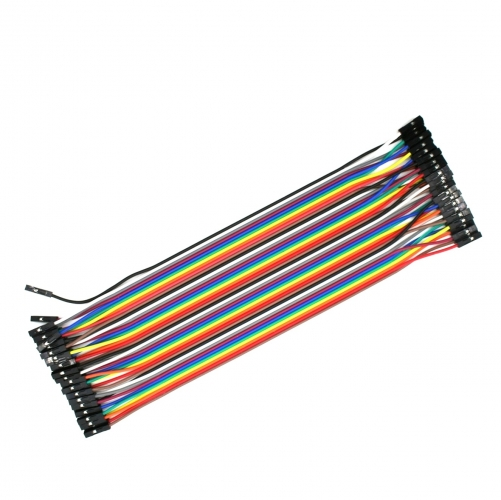 40Pin 2.54MM Row Female to Female(F-F) Dupont Cable Breadboard Jumper Wire