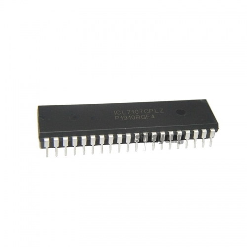 5pcs/lot ICL7107CPLZ ICL7107CPL ICL7107 DIP-40 IC In Stock