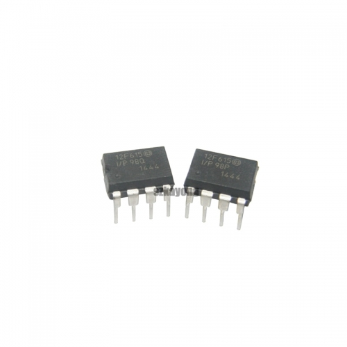 1pcs/lot PIC12F615-I/P PIC12F615 8-bit PIC microcontrollers DIP8 new original In Stock