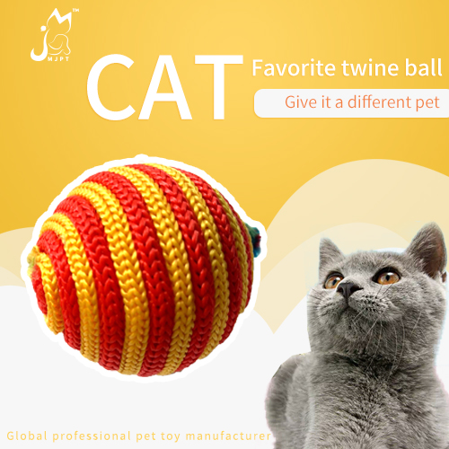 wholesale assorted color sound cat scratcher ball