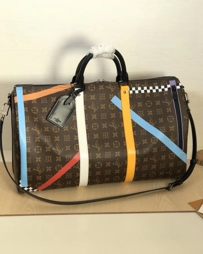 55819 Keepall duffel Classic Monogram Screen printing