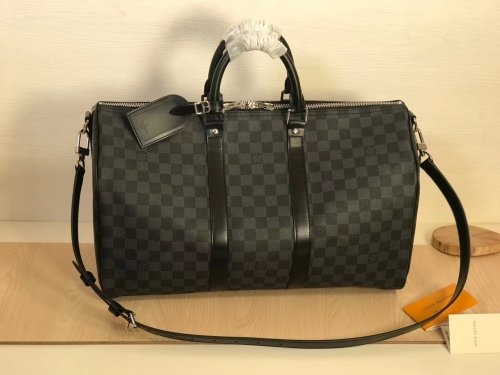 41418 Keepall 45 duffel Black Damier S