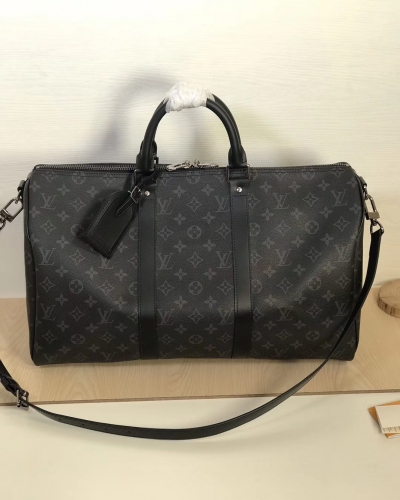 41418 Keepall 45 duffel Black Monogram S