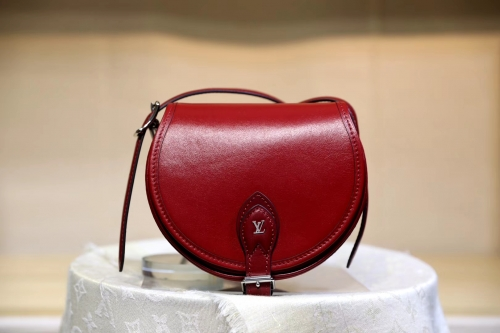 55505 Tambourin saddle Red