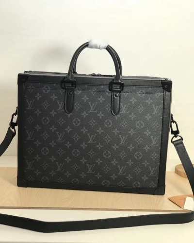 44952 [Soft Trunk] briefcase Black Monogram