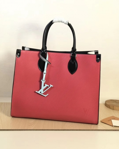56081 [Onthego] tote Contrasting colour Red S