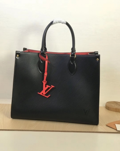 56081 [Onthego] tote Contrasting colour Black S