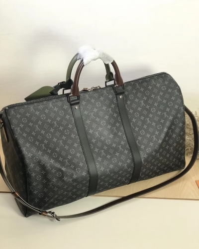 58669 [Keepall 50] duffel Black Monogram & EPI