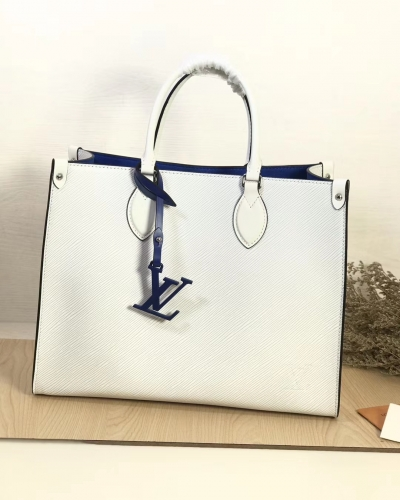 56081 [Onthego] tote Contrasting colour White S