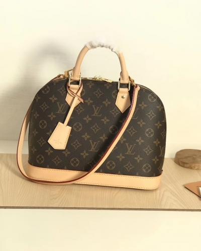 53151 Alma shell bag Classic Monogram M