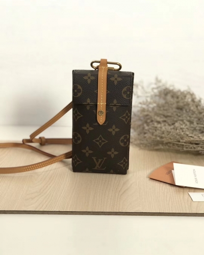 68523 [BOX] phone holder Classic Monogram