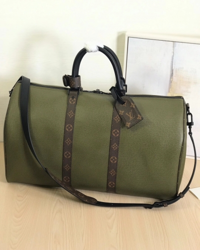 30483 [Keepall 50] duffel EPI Green
