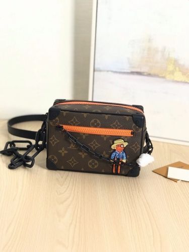 80159 [Mini Soft Trunk] box Classic Monogram Pattern Orange