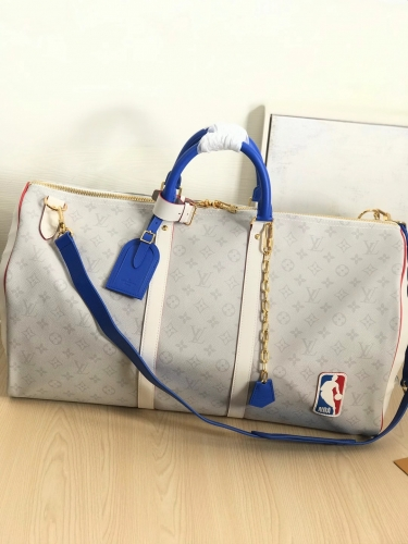 44586 [Keepall] duffel White Monogram xNBA