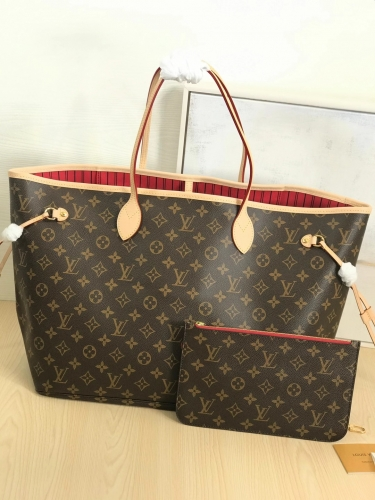M41181 [Neverfull] tote Classic Monogram Red L