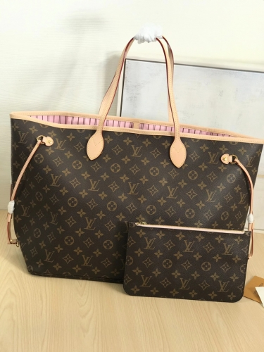 M50367 [Neverfull] tote Classic Monogram Pink L