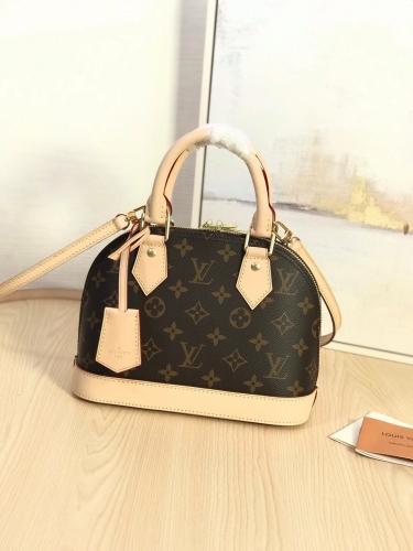 53152 [Alma] shell bag Classic Monogram S