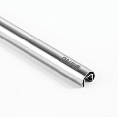 Φ25.4x1.2mm 不銹鋼圓單槽 304 材質 圓砂