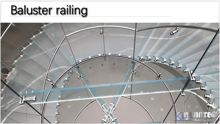 玻璃扶手管系列應用案例