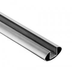 60x30x1.5mm 不銹鋼橢圓單槽, 316L材質,拉絲