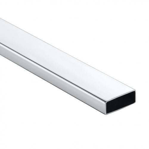 50x25x1.5mm 不銹鋼矩形管,316L 材質,鏡面