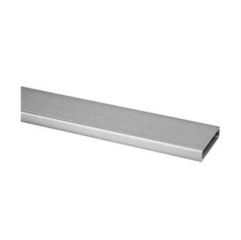 50x10x1.5mm 不銹鋼矩形管 316L 材質 拉絲