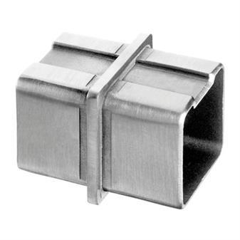 40X40X2.0mm 扶手管180°連接,304材質 砂光