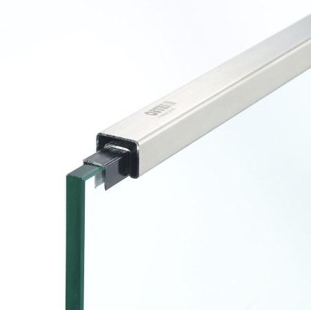25x21x1.2mm 不銹鋼矩形單槽 316L 材質 拉絲