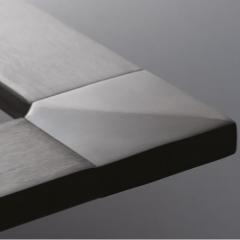 40x10x1.5mm 不銹鋼矩形管 316L 材質 拉絲