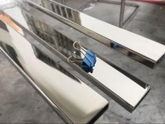 30x10x1.5mm 不銹鋼矩形管 304 材質 鏡面