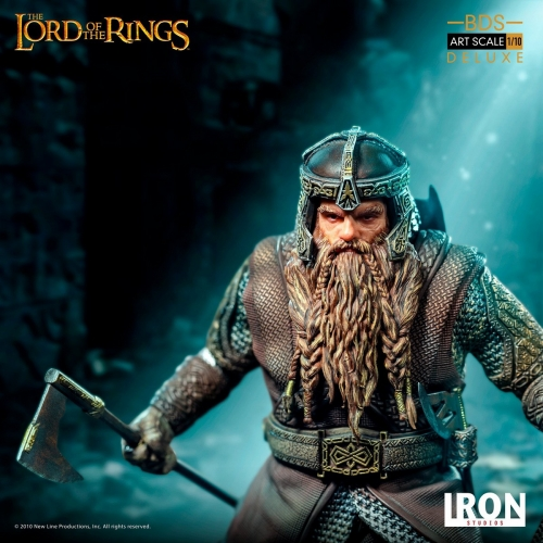 (Pre-order)Iron Studios Gimli Deluxe BDS Art Scale 1/10 Lord of the Rings